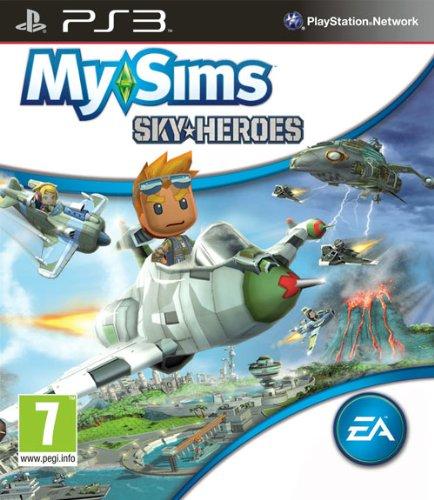 PS3 MySims Sky Heroes Nové