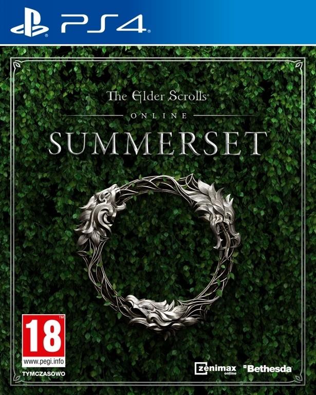 PS4 The Elder Scrolls Online Summerset Nové