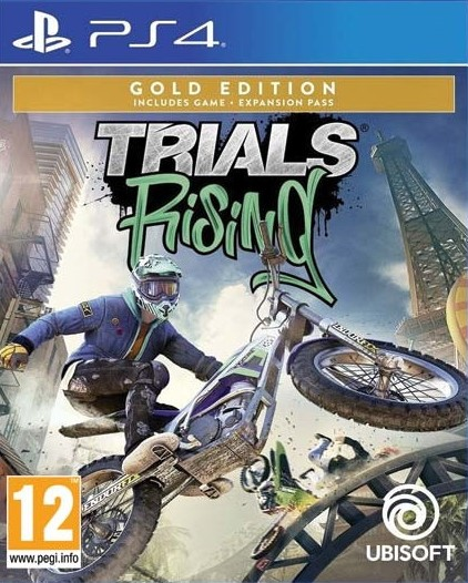 PS4 Trials Rising Gold Edition Nové