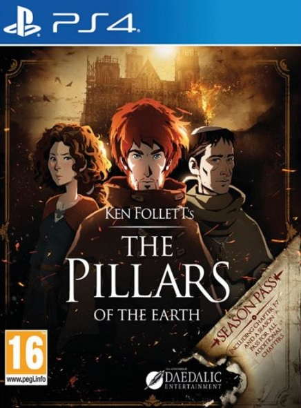 PS4 The Pillars of the Earth - jen hra