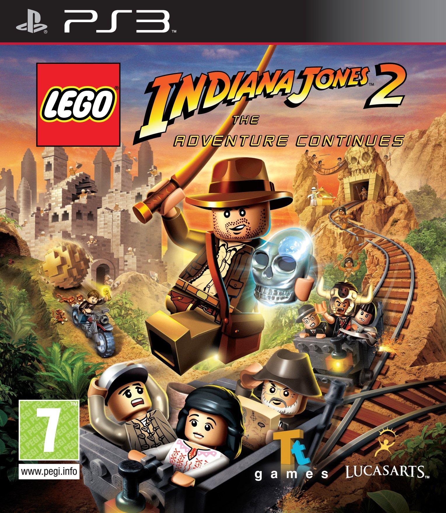 PS3 LEGO Indiana Jones 2 The Adventure Continues