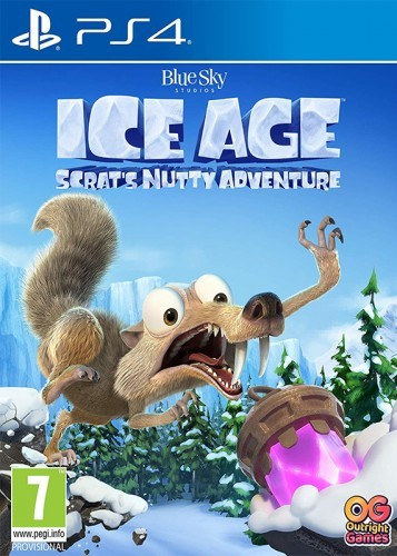 PS4 Ice Age Scrats Nutty Adventure Nové