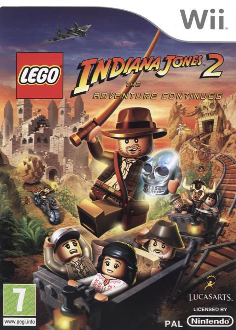 Wii LEGO Indiana Jones 2 The Adventure Continues