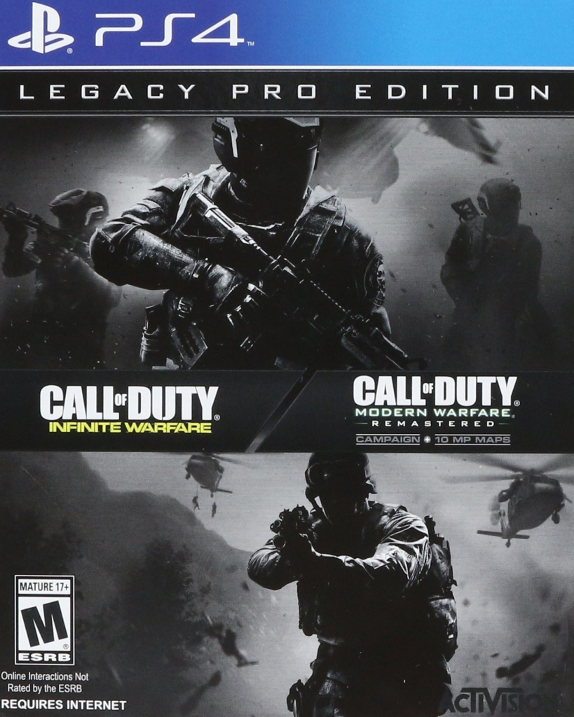 PS4 Call of Duty Infinite Warfare Legacy Pro Edition Steelbook Nové