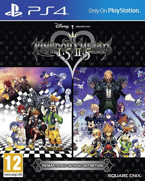 PS4 Kingdom Hearts HD 1.5 and 2.5 Remix Nové