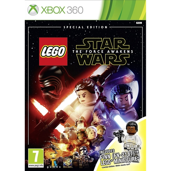 X360 LEGO Star Wars The Force Awakens Special Edition (Finn) Nové