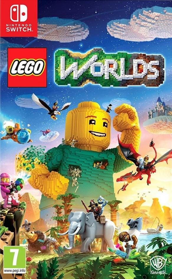 Switch LEGO Worlds CZ Nové