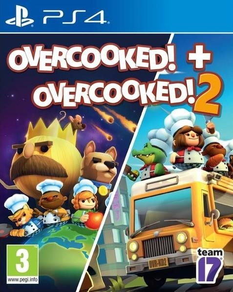 PS4 Overcooked - Overcooked 2 Nové