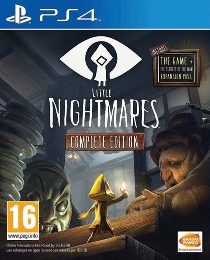 PS4 Little Nightmares Complete Edition Nové