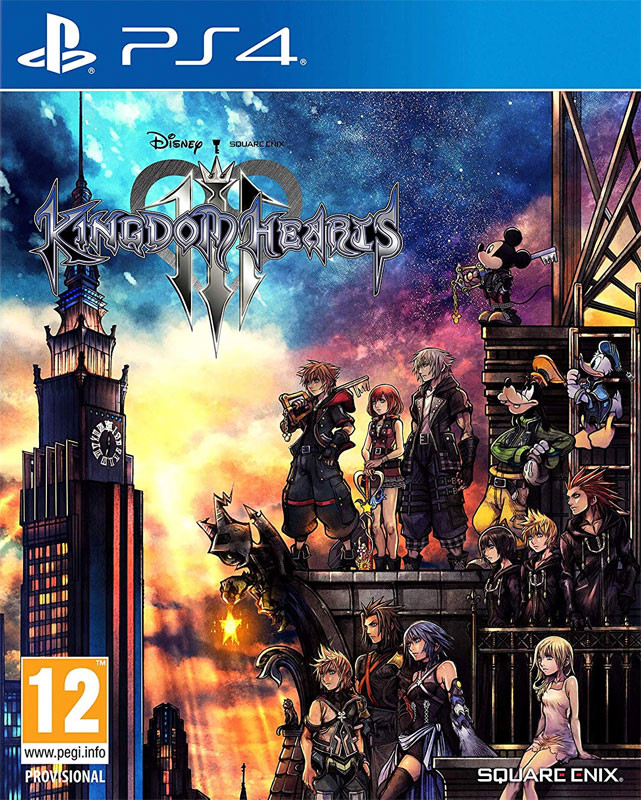 PS4 Kingdom Hearts 3 Nové