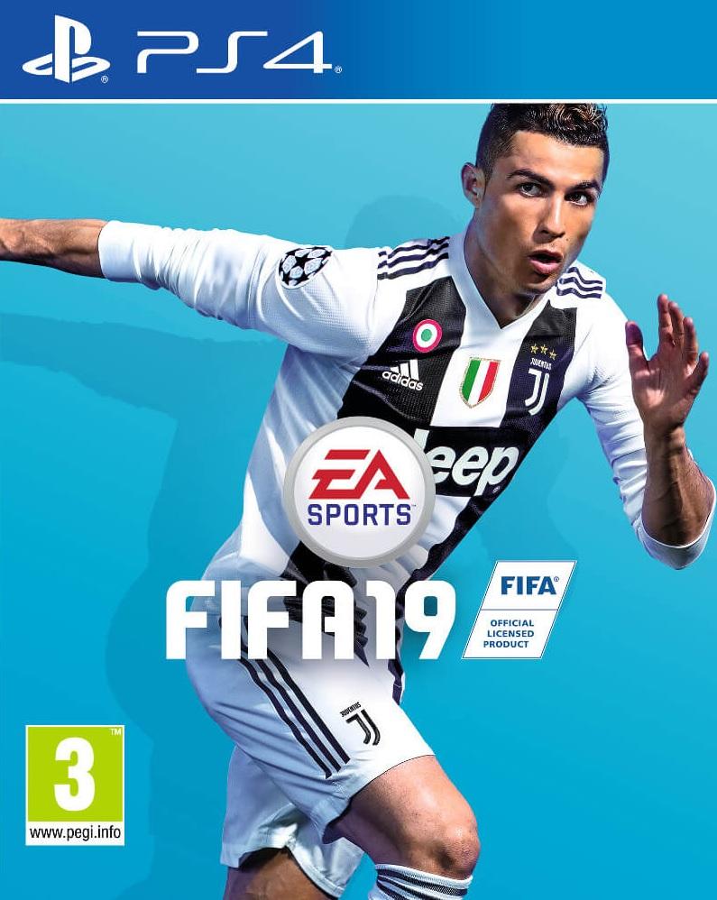 PS4 FIFA 19 CZ Nové