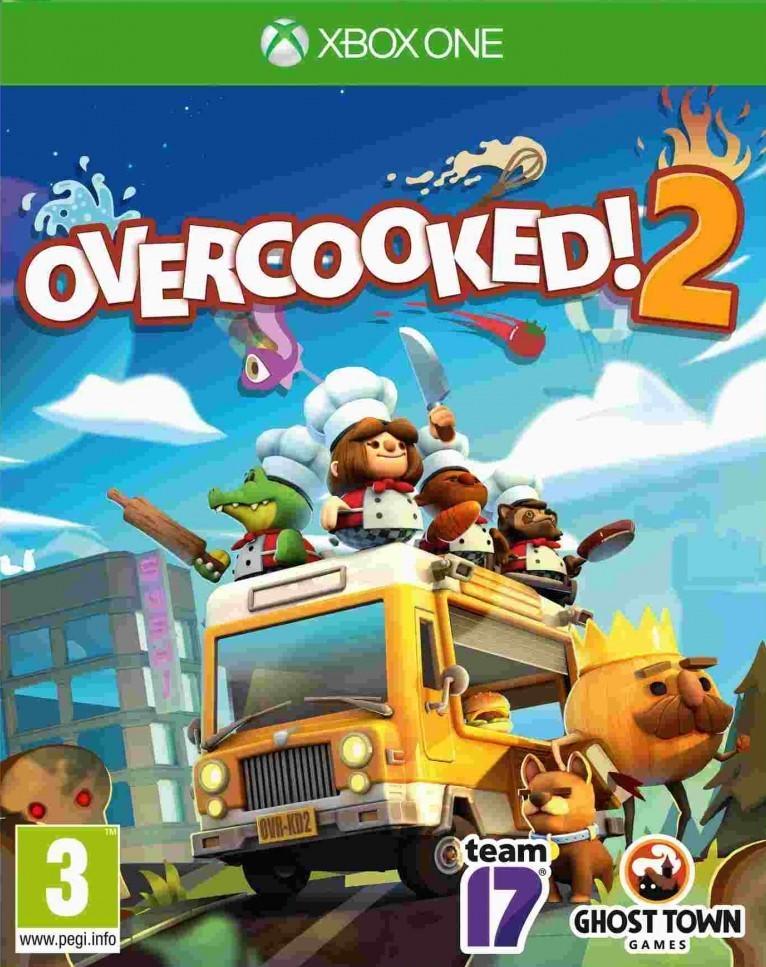 XONE Overcooked! 2 Nové