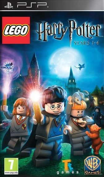 PSP Lego Harry Potter Years 1-4 Nové