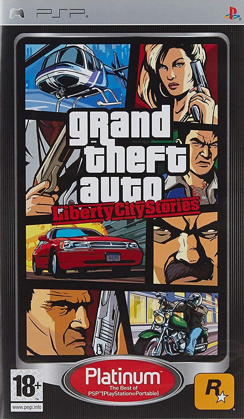 PSP Grand Theft Auto Liberty City Stories
