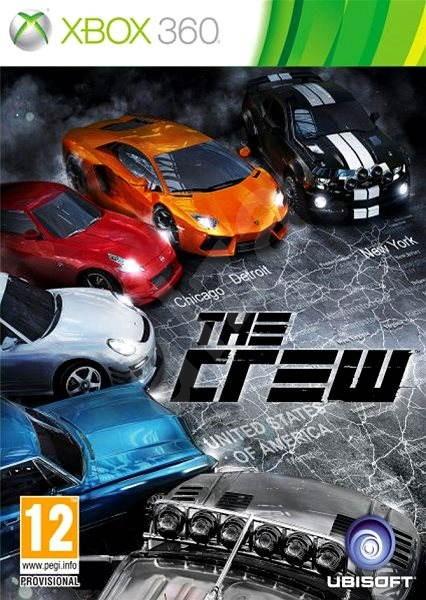 X360 The Crew Nové