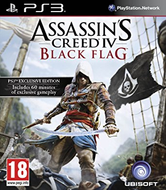 PS3 Assassins Creed 4 Black Flag Nové