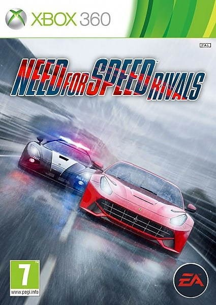 X360 Need for Speed Rivals Nové