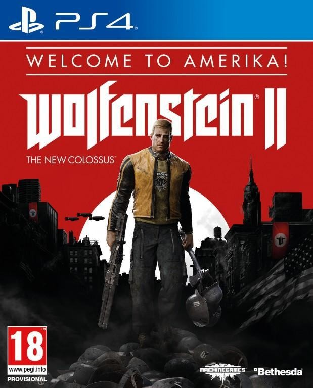 PS4 Wolfenstein 2 The New Colossus Welcome To America