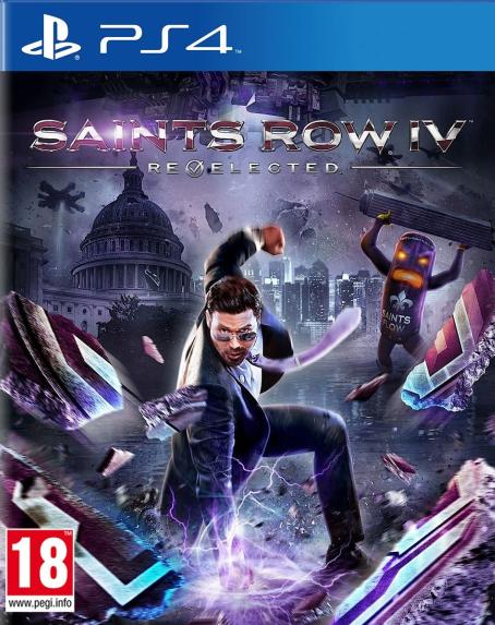 PS4 Saints Row 4 Re Elected