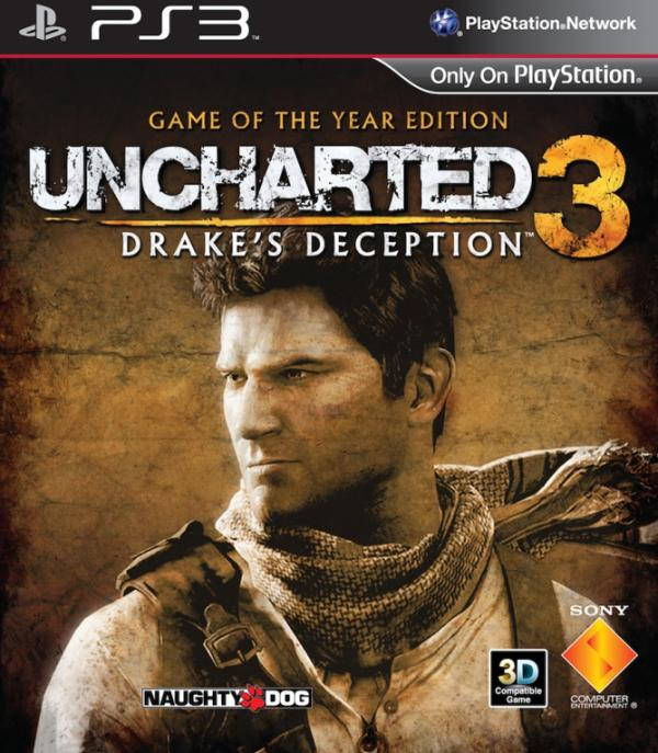 PS3 Uncharted 3 Drake's Deception GOTY