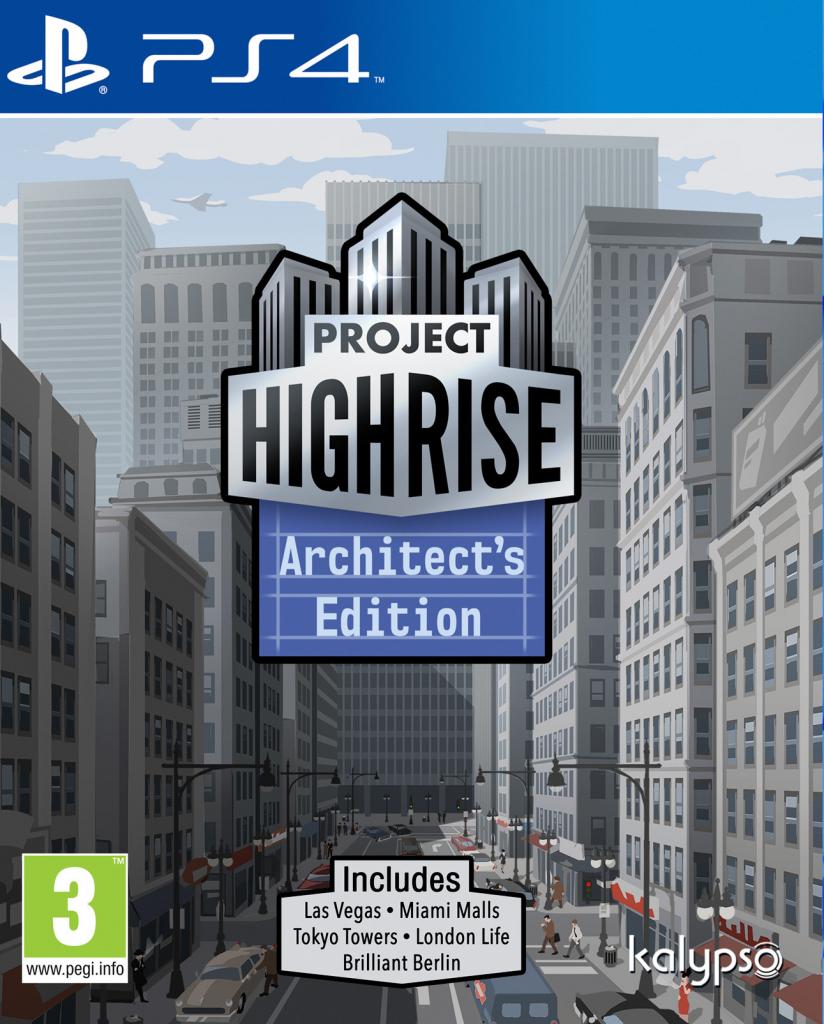 PS4 Project Highrise Architects Edition Nové