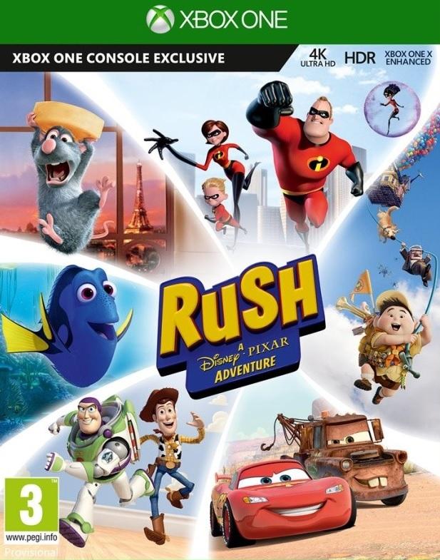 XONE Rush A Disney Pixar Adventure CZ Nové