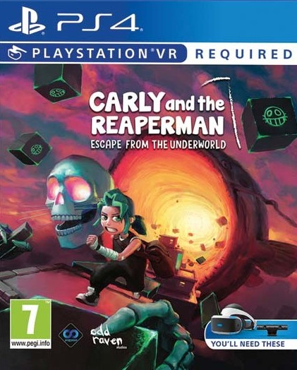 PS4 Carly and the Reaper Man Nové