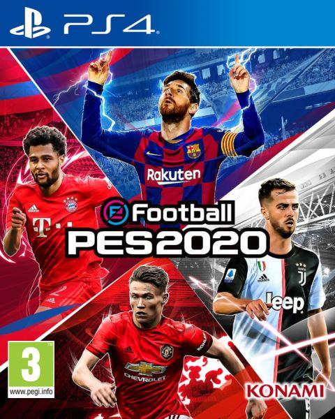 PS4 Pro Evolution Soccer 2020 Nové
