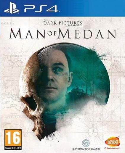 PS4 The Dark Pictures Anthology Man of Medan Nové