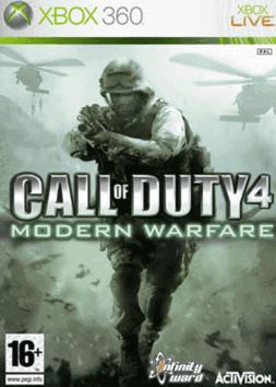 X360 Call of Duty 4 Modern Warfare
