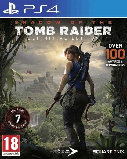 PS4 Shadow of the Tomb Raider Definitive Edition Nové