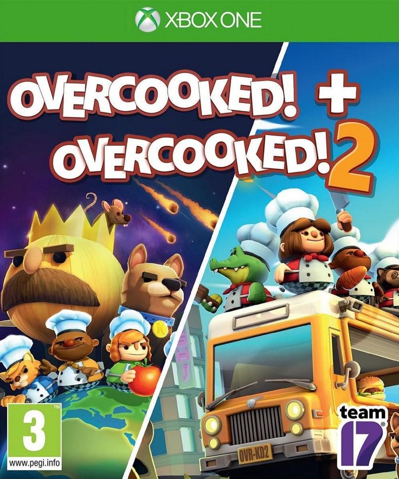 XONE Overcooked - Overcooked 2 Nové