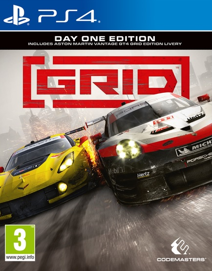 PS4 GRID Day One Edition Nové