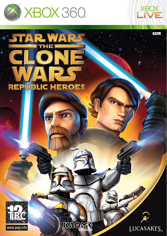 X360 Star Wars The Clone Wars Republic Heroes