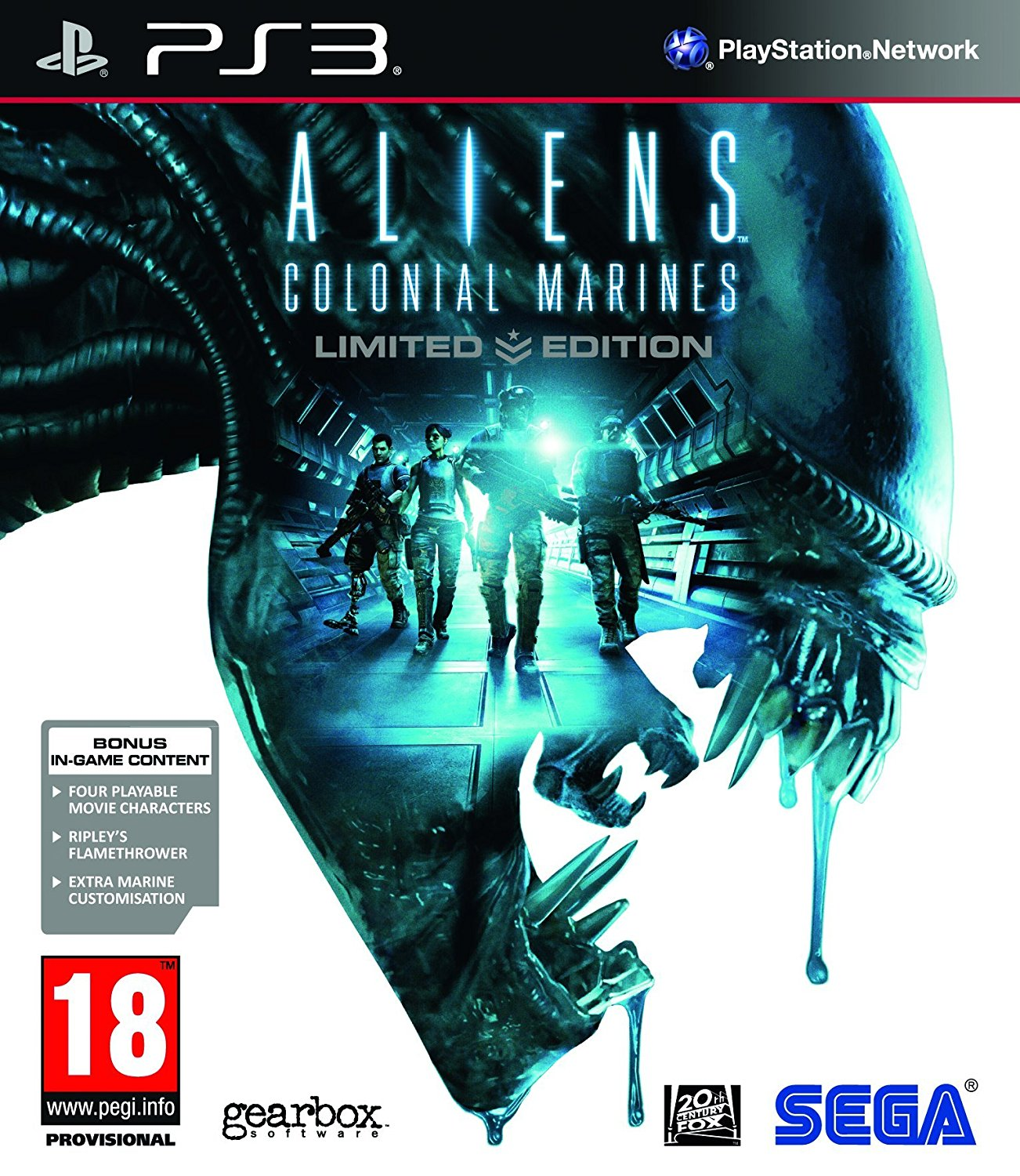 PS3 Aliens Colonial Marines Limited Edition Nové