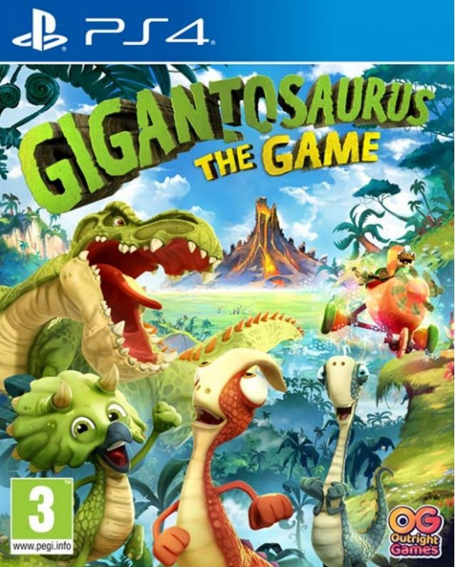 PS4 Gigantosaurus The Game Nové