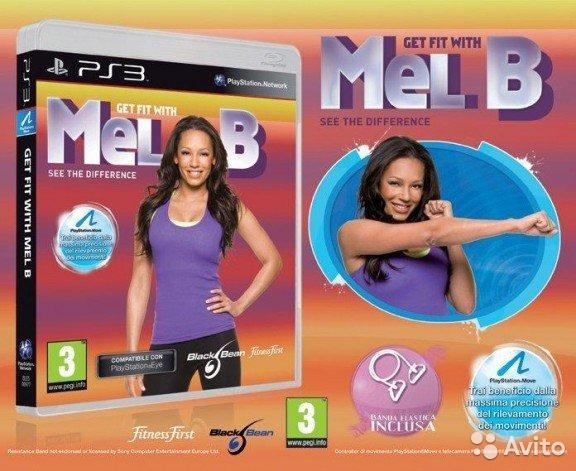 PS3 Get fit with Mel B + posilovací guma