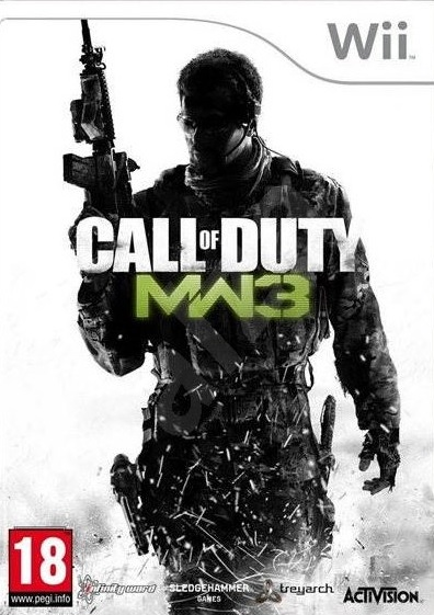 Wii Call of Duty Modern Warfare 3 Nové