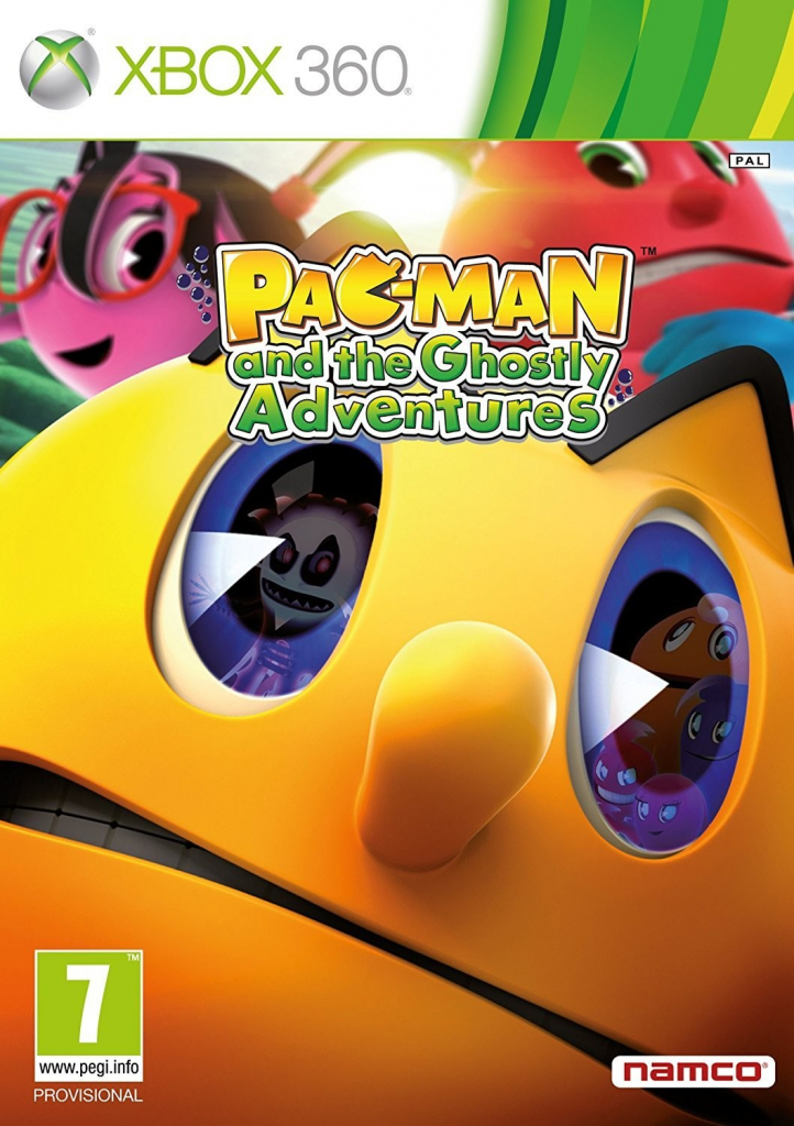 X360 Pac-Man and the Ghostly Adventures Nové
