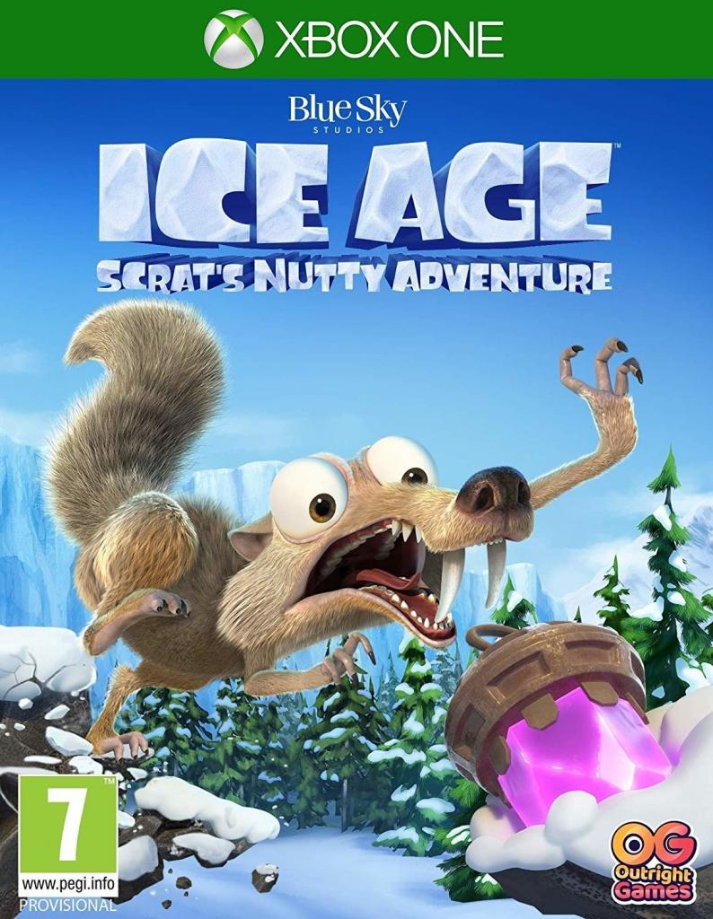 XONE Ice Age Scrats Nutty Adventure Nové