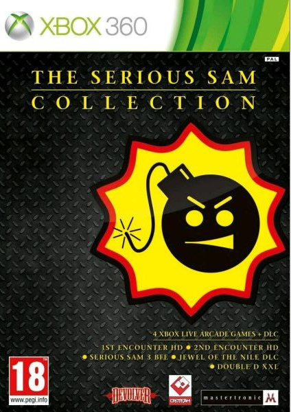 X360 The Serious Sam Collection Nové