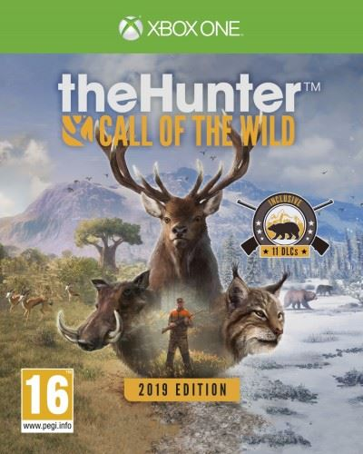 XONE The Hunter Call of the Wild 2019 Edition Nové