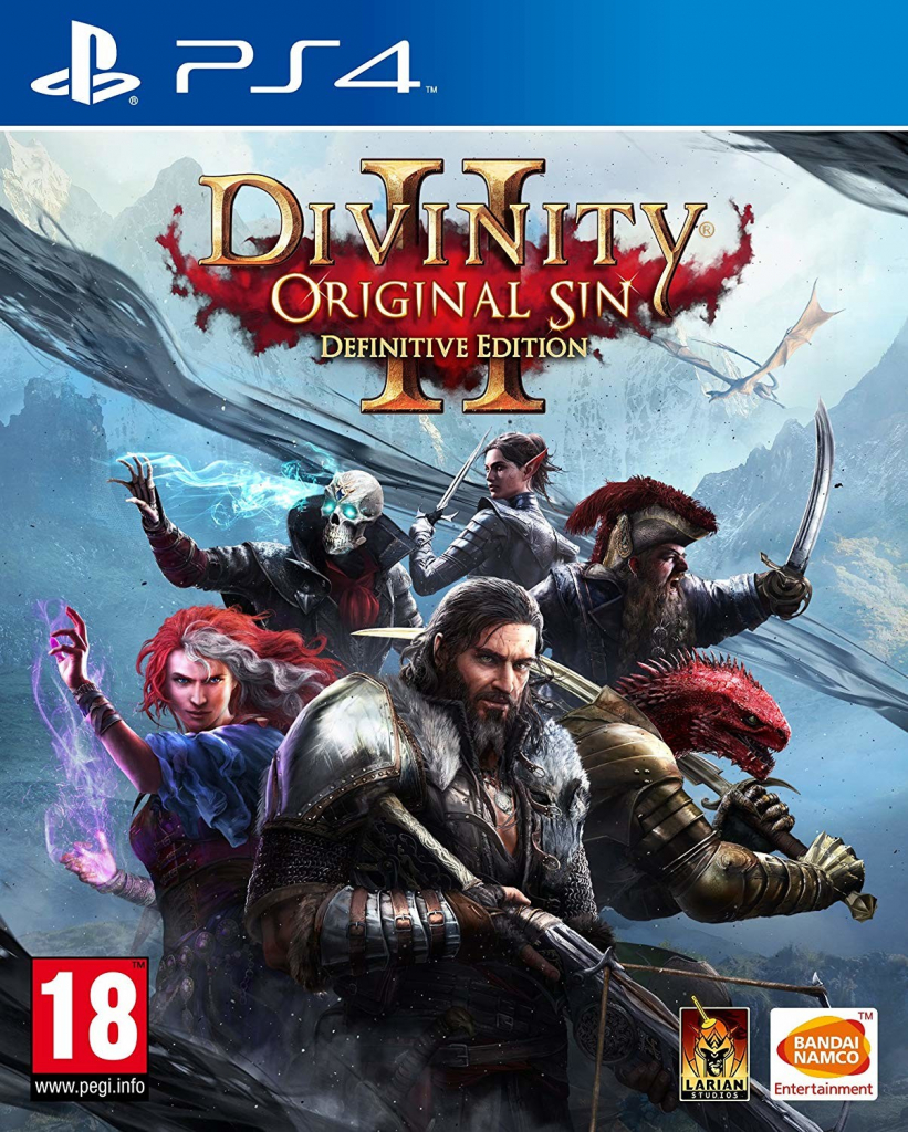 PS4 Divinity Original Sin 2 Definitive Edition CZ Nové