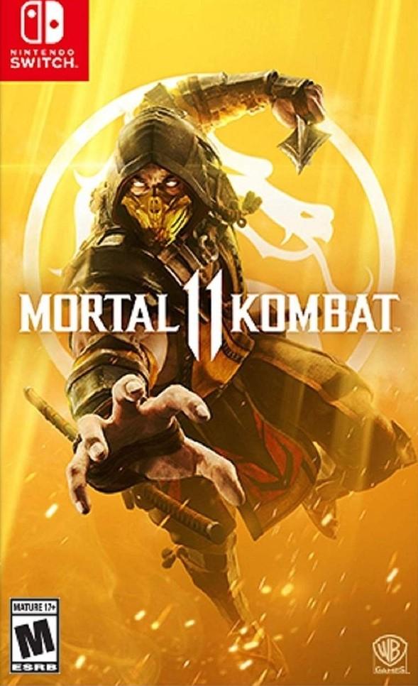 Switch Mortal Kombat 11 Nové