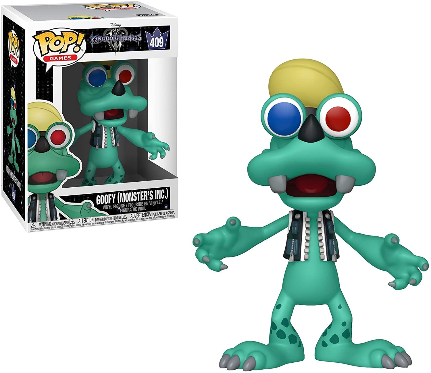 Funko POP! 486 Games Kingdom Hearts 3 Goofy Monsters Inc. Vinyl Figure Nové