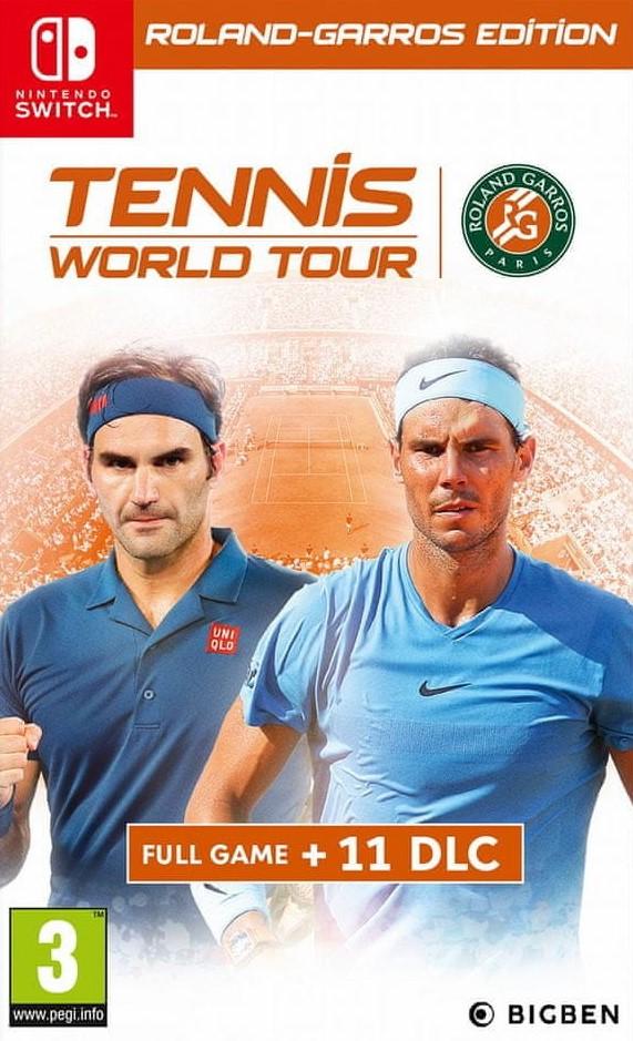 Switch Tennis World Tour Roland Garros Edition Nové