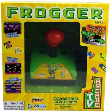 Frogger Classic Plug and Play Arcade Game (Electronic Games) Nové