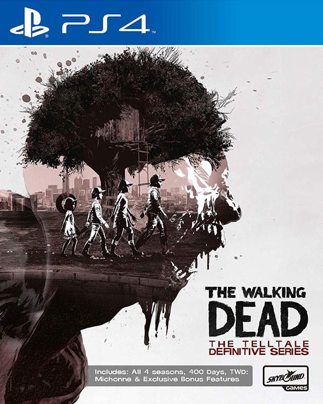 PS4 The Walking Dead The Telltale Definitive Series Nové