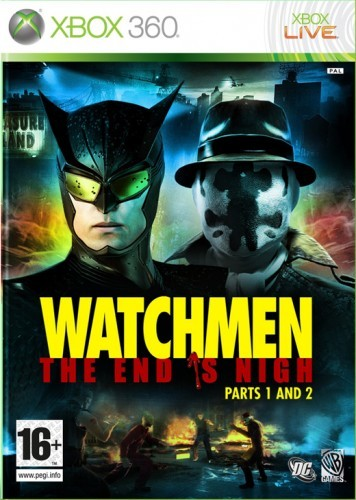 X360 Watchmen The End is Nigh Parts 1 and 2 Nové