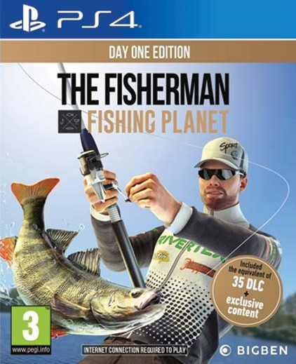 PS4 The Fisherman Fishing Planet Day One Edition Nové